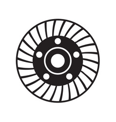 Grinding disc diamond cup wheel tool vector