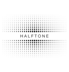 halftone gradient texture frame vector image