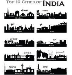 IndianCities vector