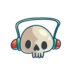love music to death concept vector image