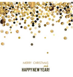merry christmas greeting wit vector image