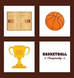 Sport design vector image