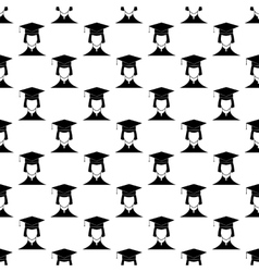 Student pattern seamless vector