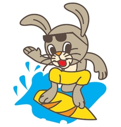 Surf Rabbit vector