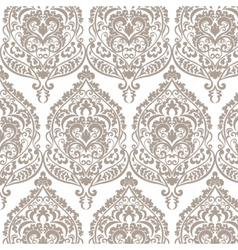 Vintage Damask Pattern ornament vector
