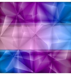 Violet-blue abstract background vector image