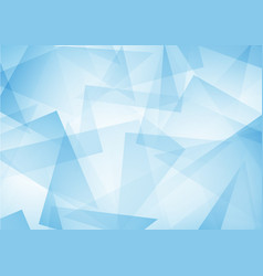 blue abstract pattern of geometric shapes texture vector image vector image