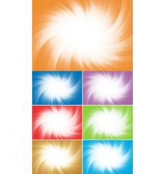 vector collection colorful background vector image vector image