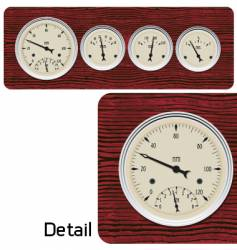antique gages vector image vector image