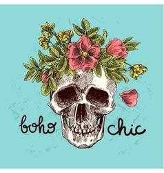 boho chic vector image