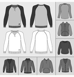 street fashion clothing 18 vector image
