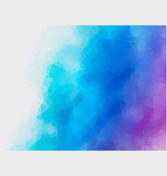 abstract blue purple polygonal background vector image