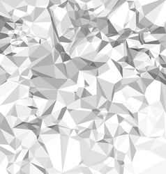 Abstract crumpled paper vector