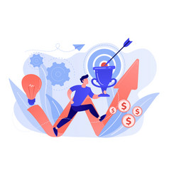 Business mission concept vector