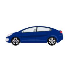 car single icon in cartoon style for designcar vector image