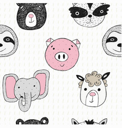 Cartoon style great for fabric textile vector