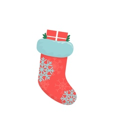 Great Christmas boots vector image