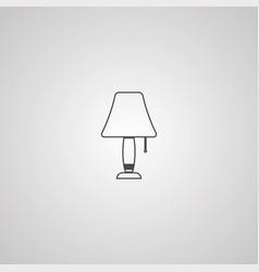night lamp icon sign symbol vector image
