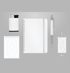 promotional items template vector image