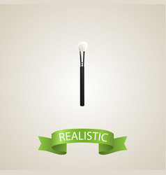 realistic face paint element vector image