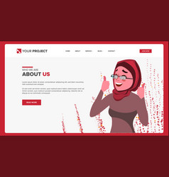 web page design business reality site vector image