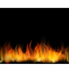 Fire Seamless background vector image