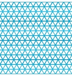 Triangles pattern background eps 10 vector image