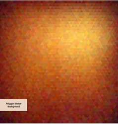 Abstract polygon style background vector image