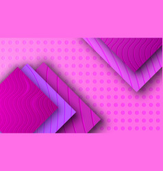 Background with purple violet plastic tile vector
