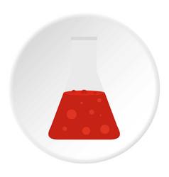 Beautiful bag icon circle vector