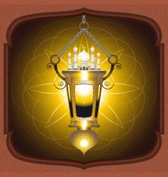 Eid Mubarak Lantern vector