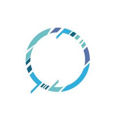 geometric banner shape vector image
