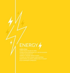 Llightning and electric vector image