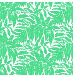 pattern with leaves tropical plants vector image