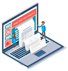 payment means payments electronic online vector image