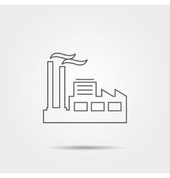 plant line icon vector image
