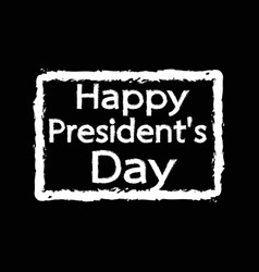 presidents day icon design vector image