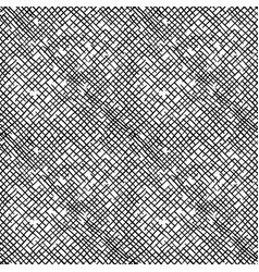Simple pattern of hatching grunge texture vector