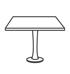 table desk office icon vector image