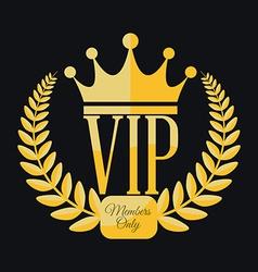 Vip member vector