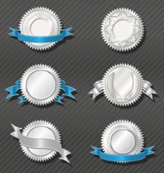emblems series medallion vector image vector image