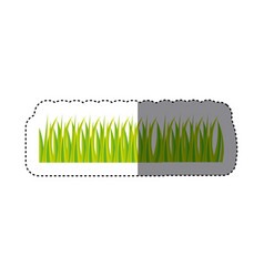 grass icon image stock vector image