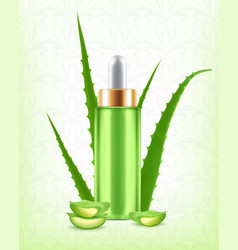 Aloe vera serum vector