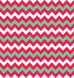 Chevron seamless pattern in flat style vector image