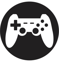 Game joypad icon vector