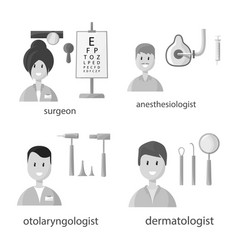 Isolated object hospital and healthcare icon vector