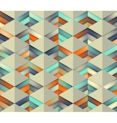 Seamless Gradient Mesh Color Stripes vector image