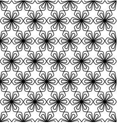 seamless traditional japanese ornament kumiko vector image