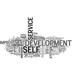 Self help word cloud concept vector