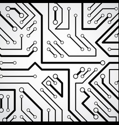 circuit board futuristic cybernetic texture vector image vector image